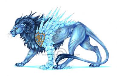 -C- Ice Lion by Shadow-of-Destiny