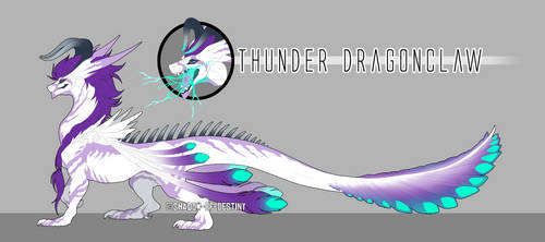 Thunder Dragonclaw by Shadow-of-Destiny