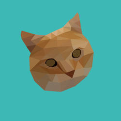 Abstract Poly Cat by thickair