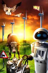 Milking Robot by DesignerKratos