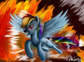 Rainbow Fire? by aJVL