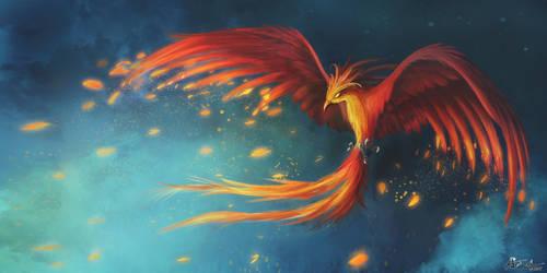 Philomena -  Equestria's Finest Phoenix by aJVL