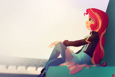 A Moment in the Sun by aJVL