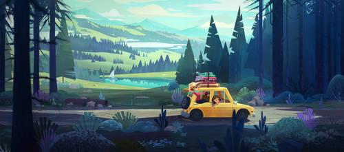 Road Trip by aJVL