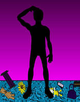 The Shadow boy by Chiracy