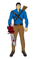 Young Ash Williams by Chiracy