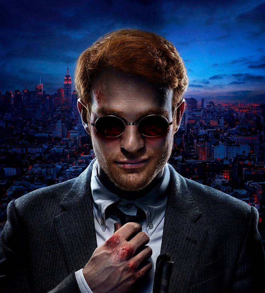 Matthew Murdock with red hair by Chiracy