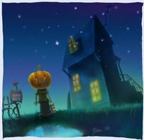 Halloween Pumpkin by starryjohn