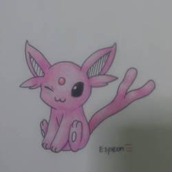 Espeon!! : by Leafeonandoshawott