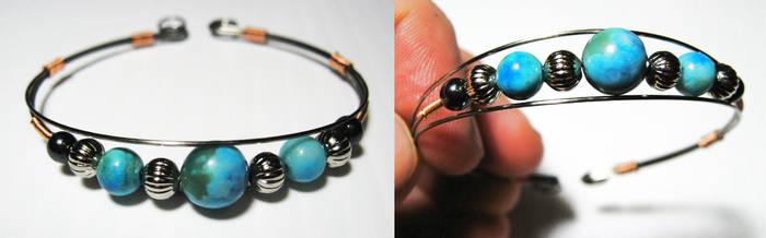 Turquoise Bracelet by PaintSlinger