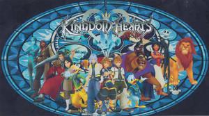 Kingdom Hearts 2 Heroes by FellerofWinds