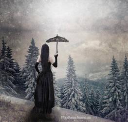 Sous la neige by PlacidAnemia