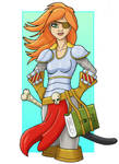Female Pirate Print Test by TheGreenCount