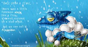 Under the rain by KeroKikka