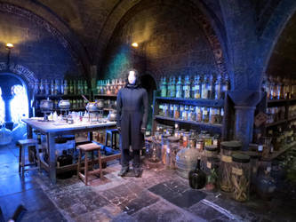 HARRY POTTER studio sets tour ,hogwarts props, by Sceptre63