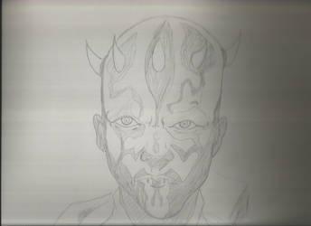 Darth maul Sketch... by Hersiali