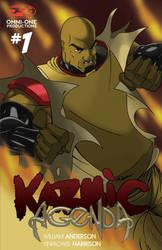 Karmic Agenda issue 1 cvr by blaquejag