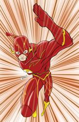 New 52 Flash by blaquejag