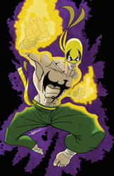 Iron fist again by blaquejag