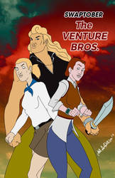 SWAPTOBER - The Venture Bros by blaquejag
