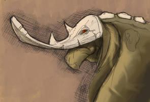 Conceptual Beast by blaquejag