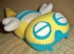 Dunsparce Plushie by Sparkle-And-Sunshine
