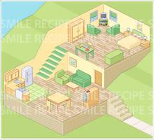 Pixel House by smilerecipe