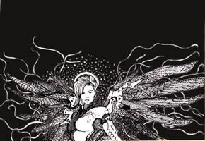 Mercy Overwatch by annamariadel