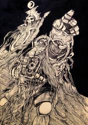 Space Marines by annamariadel