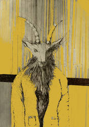 Yellow Demon by annamariadel