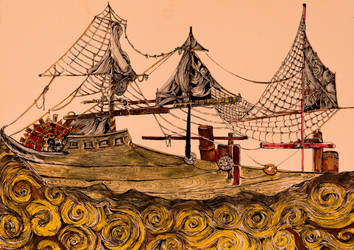 Ship no10 by annamariadel