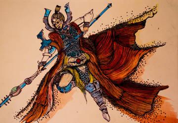 Macha Of Bien-tan by annamariadel