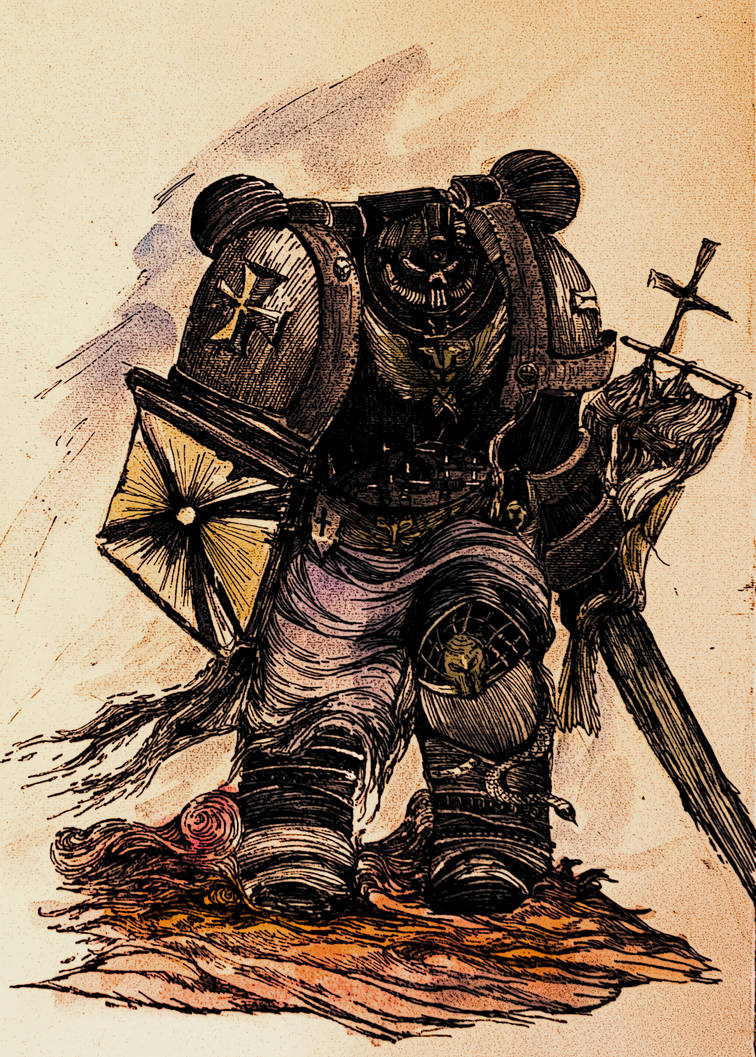 Black Templar by annamariadel