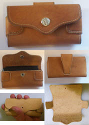 Leather Smartphone Case by rwolf1970