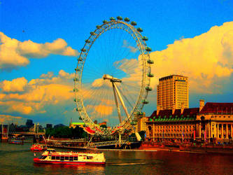 London Eye by seethebeautywithin