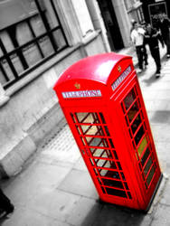 London Phone Booth by seethebeautywithin