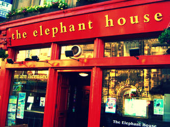 Elephant House- JK Rowling by seethebeautywithin