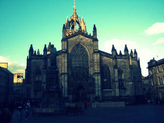 Cathedral in Edinburgh by seethebeautywithin