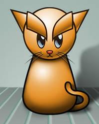 Fella's kitty by MyBurningEyes