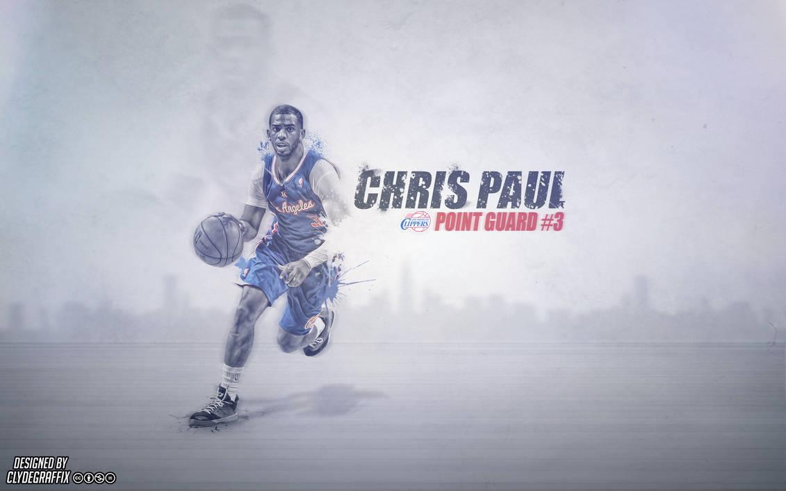 Chris Paul   Wallpaper by ClydeGraffix ...