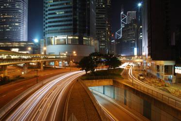 Hong Kong Night by htdaab