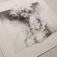 elf drawing by chantalhoreis