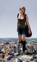 Giantess Emma Watson by Nebuloch