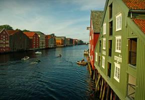 Trondheim I by kachahaha