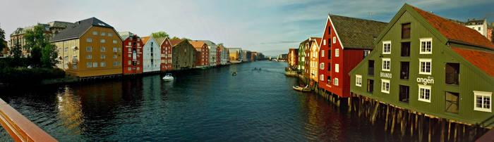 Trondheim II by kachahaha