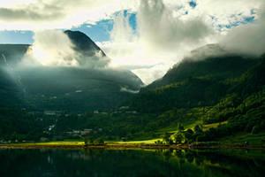 Geirangerfjord by kachahaha