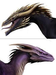 Dragon head by TatianaMakeeva