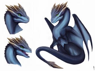 little dragon by TatianaMakeeva