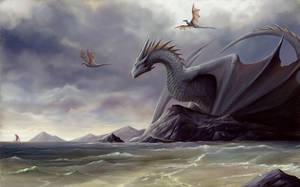 Isle Wyverns by TatianaMakeeva