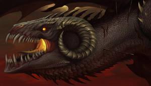 Dragons Of The Apocalypse: war by TatianaMakeeva